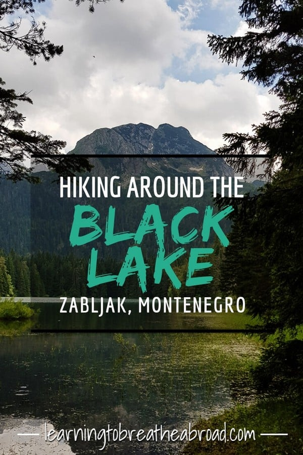 Hiking around the Black Lake in Zabljak Montenegro