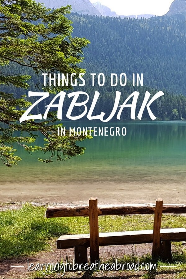 Things to do in Zabljak in Montenegro