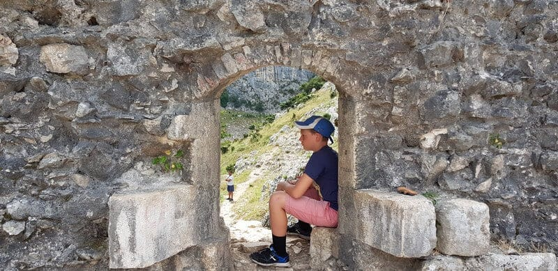 hole in Kotor city walls