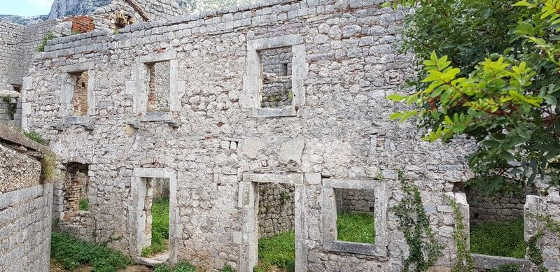 St Johns Fortress in Kotor