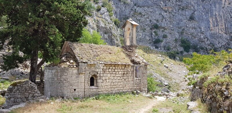 St Georges Church in Kotor