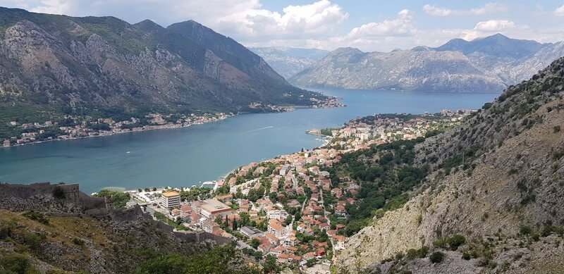 Things to Do in Kotor in Montenegro: Hiking the city walls
