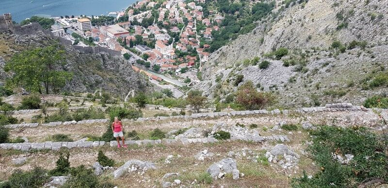 Hiking the Ladder of Kotor