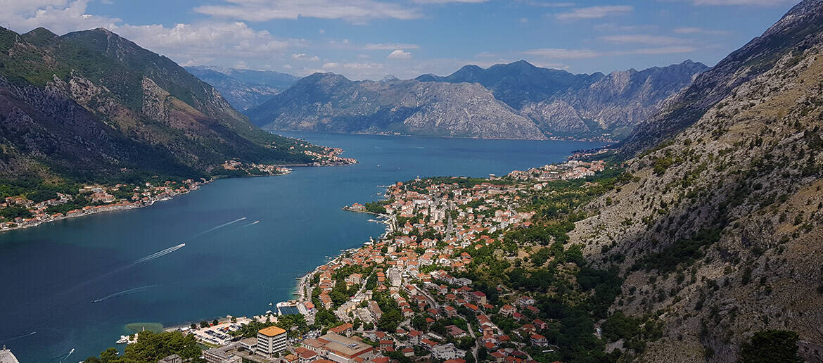 Hiking the Kotor City Walls and the Ladder of Kotor