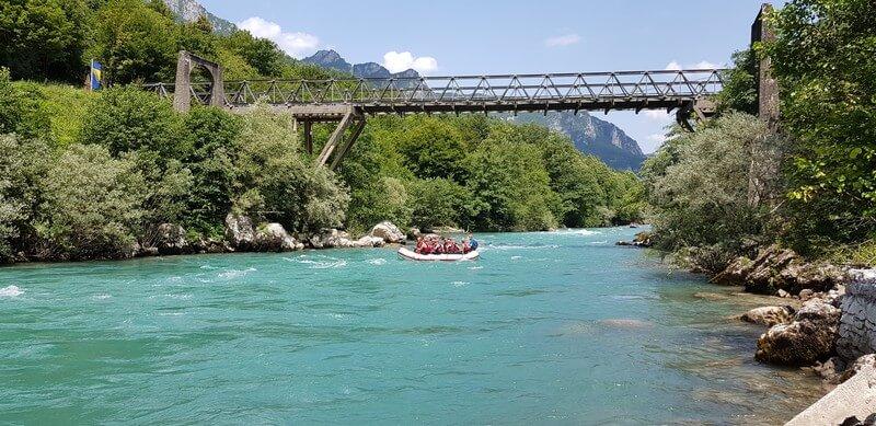 White Water Rafting on the Tara River