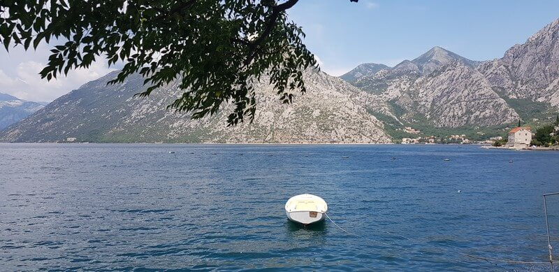 Drive around the Bay of Kotor in Montenegro