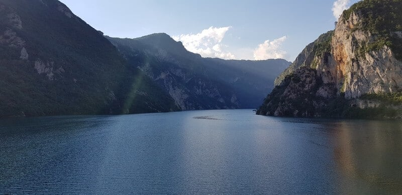 Pluzine: Piva Lake, Piva River