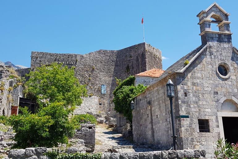Stari Bar in Montenegro