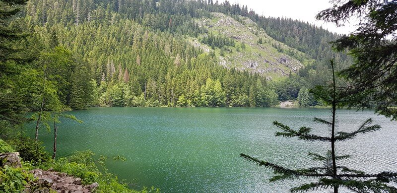 Hiking the Black Lake in Zabljak, Montenegro