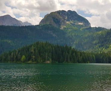 Hiking the Black Lake in Zabljak, Montenegro