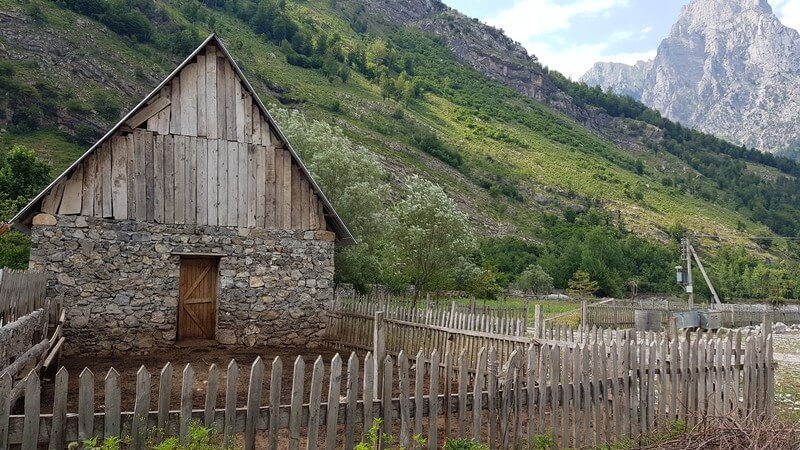 Valbone to Thethi hike: Valbone guesthouse