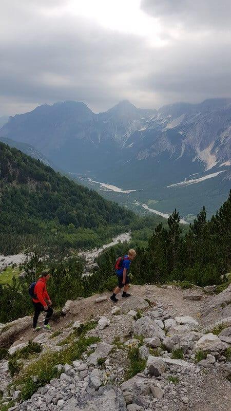 Valbone to Thethi hike: Albanian Alps