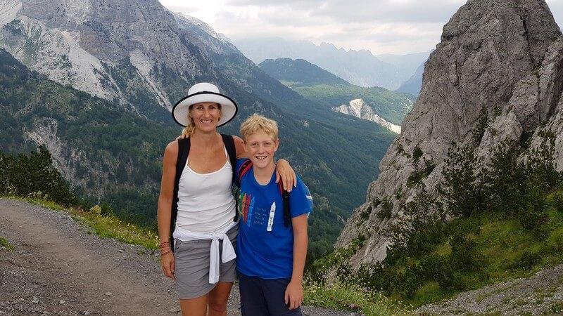 Valbone to Thethi Hike, Albanian Alps: Valbone Pass