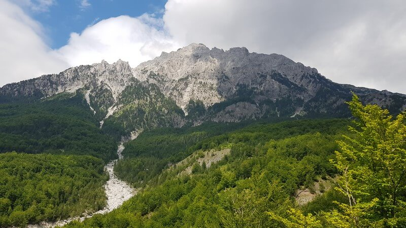 Valbone to Thethi hike: Thethi Mountains in Albania