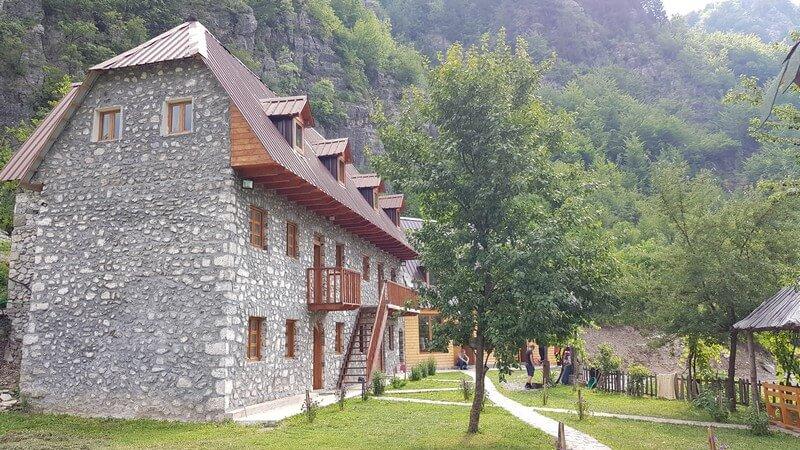 Valbone to Thethi hike: Thethi Guesthouse