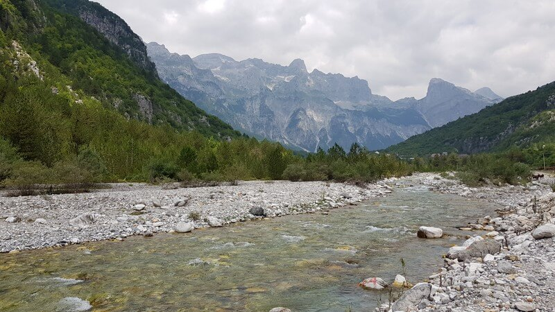 thethi valley in Albania
