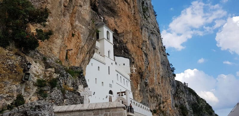 Best places to visit in Montenegro: Ostrog Monastery