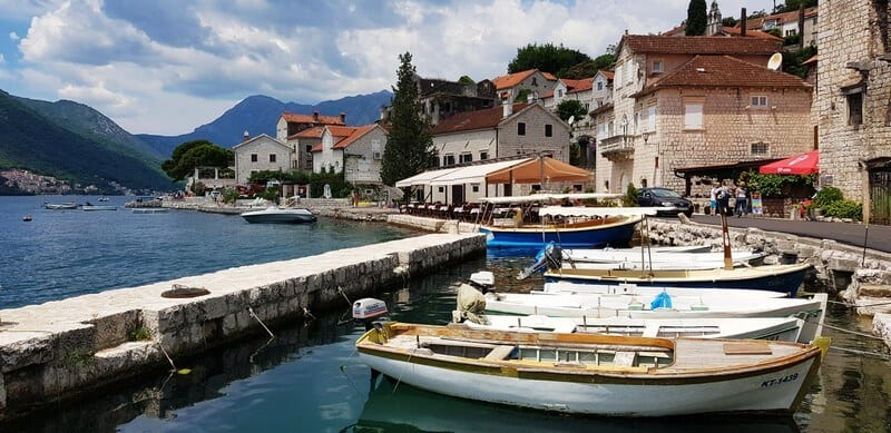 Best places to visit in Montenegro: Perast
