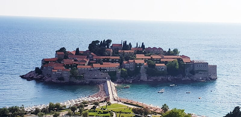 Best places to visit in Montenegro: Sveti Stefan