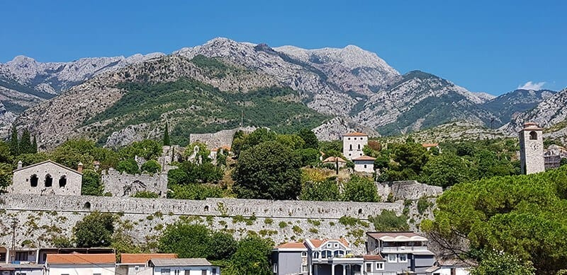 Best places to visit in Montenegro: Stari bar