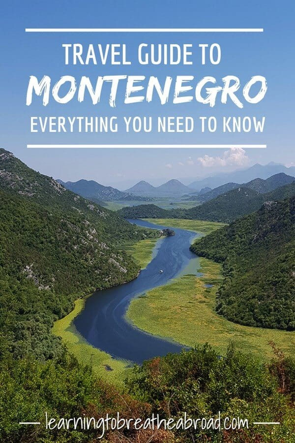 Travel guide to Montenegro, everything you need to know