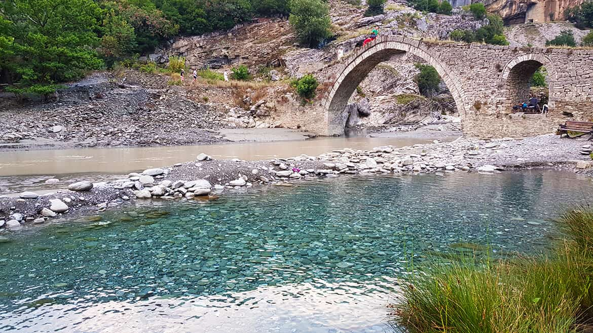 Wild Camping in Albania: Banje Hot Springs