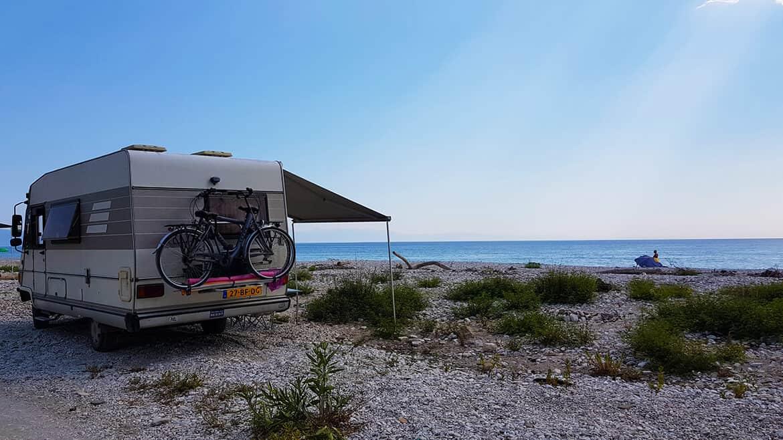 Wild Camping in Albania: Borsch Beach