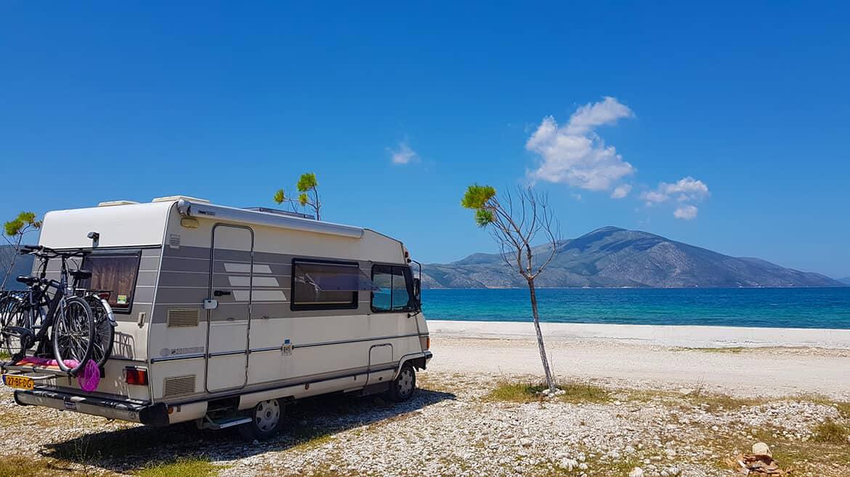 Wild Camping in Albania: Orikum