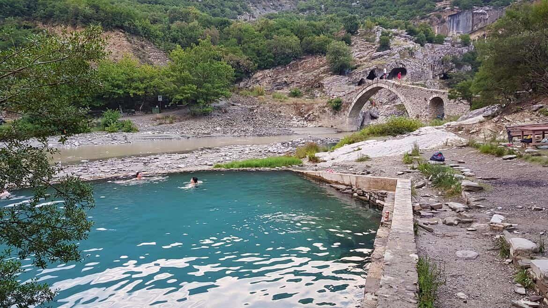 4 Week Albania Itinerary: Permet, Banje Hot Springs