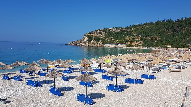 4 Week Albania Itinerary: Himare, Livadhi Beach