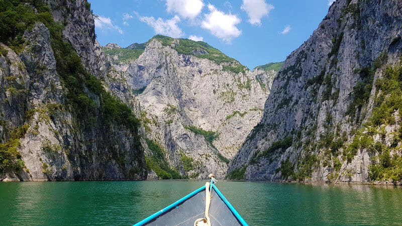 Things to do in Albania: Lake Komani