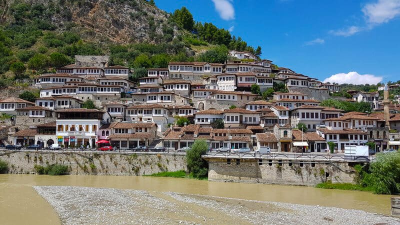 Things to do in Albania: Thousand Windows of Berat