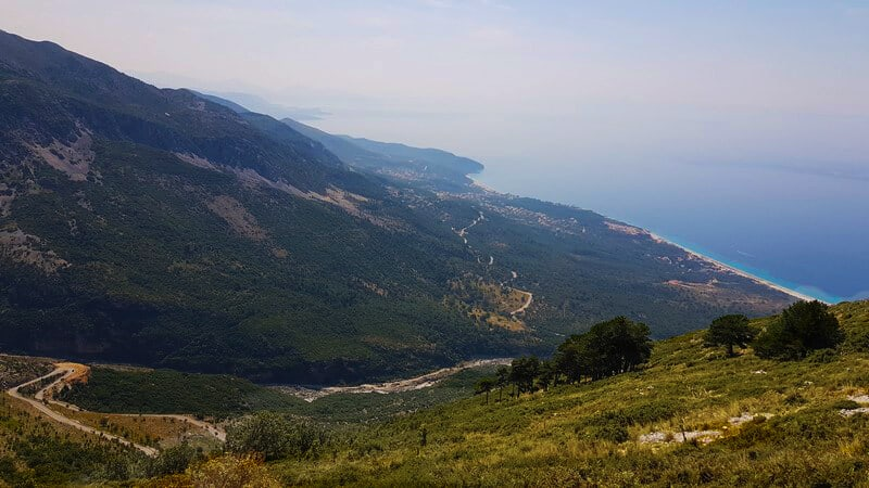 Things to do in Albania: Drive the Llagora Pass
