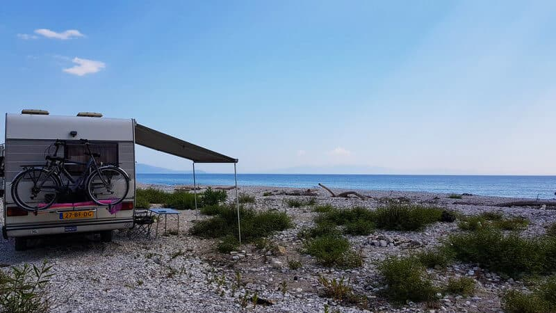 Things to do in Albania: Wild Camp Anywhere
