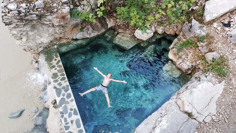 Things to do in Albania: Have a spa day at Benja Thermal Springs