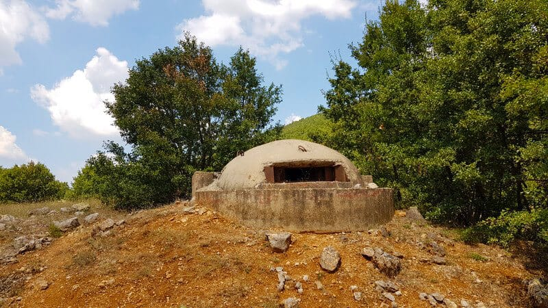 Things to do in Albania: Count bunkers