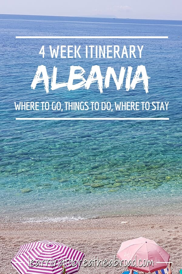 4 Week itinerary for Albania - Where to go, things to do, where to stay