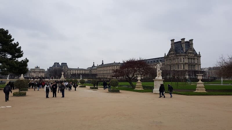 Paris for a day - Tuileries Gardens