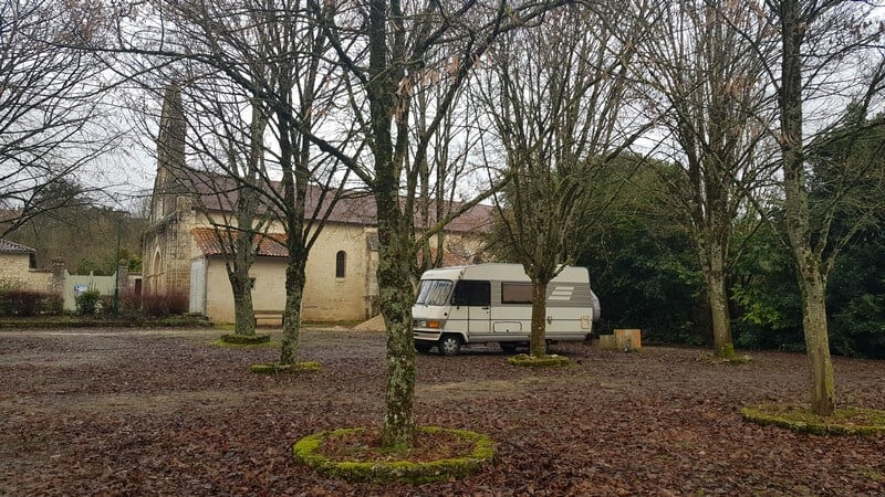 San Sebastian: Campervan stop in France