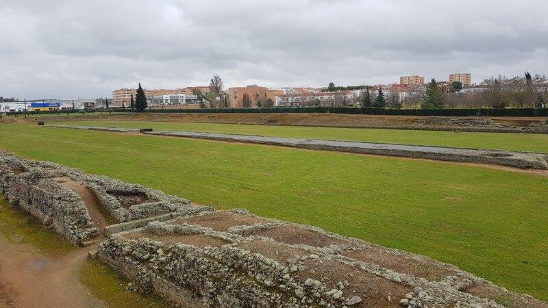 Roman ruins in Merida Spain: Roman Circus