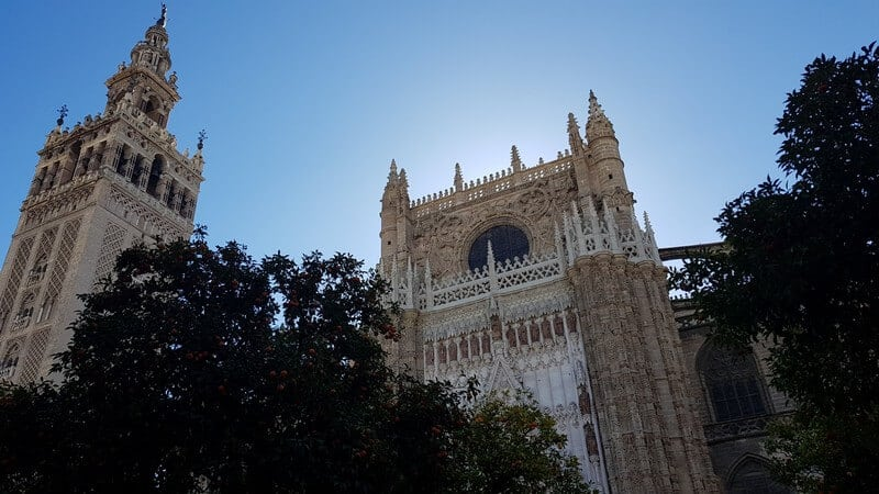 Things to see in Seville: The Orange Courtyard of the Seville Cathedral