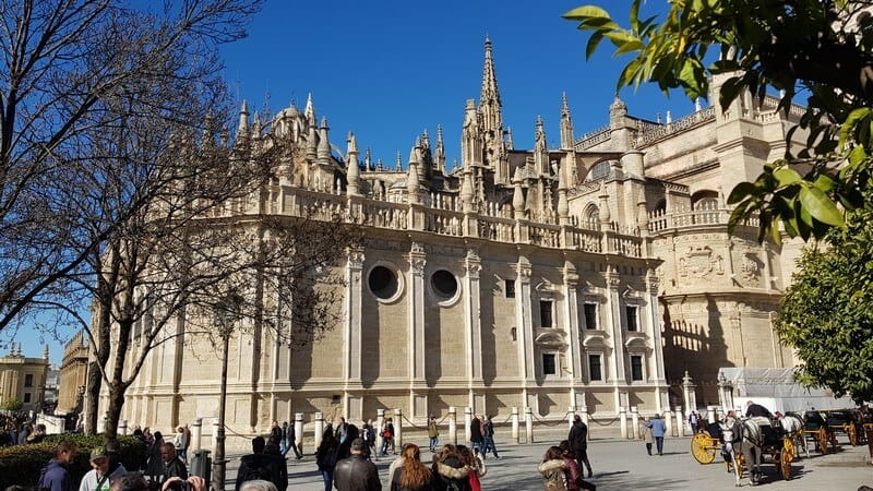 Seville, Spain: Seville Cathedral Architecture