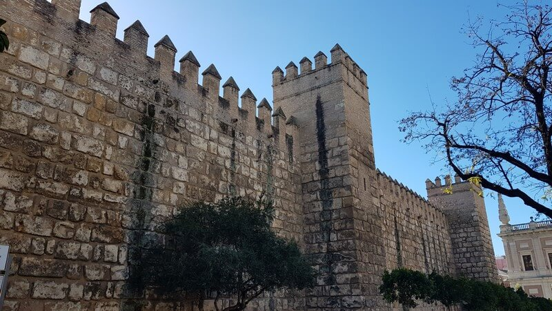 Seville, Spain: Real Alcazar Ramparts