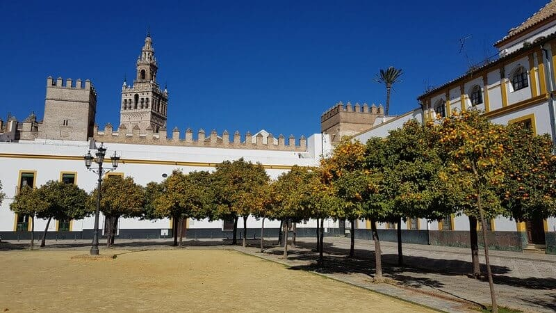 Seville, Spain: Real Alcazar Courtyard