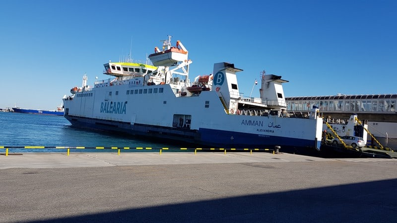 Algeciras to Morocco: Our ferry