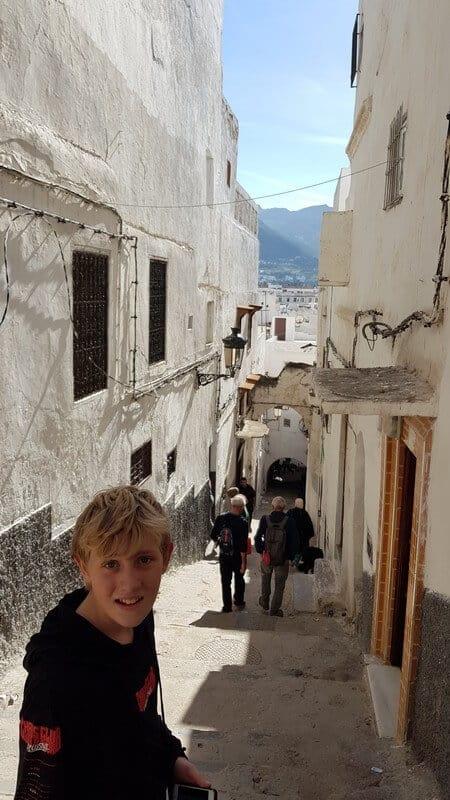 Tetouan Medina - alleyways