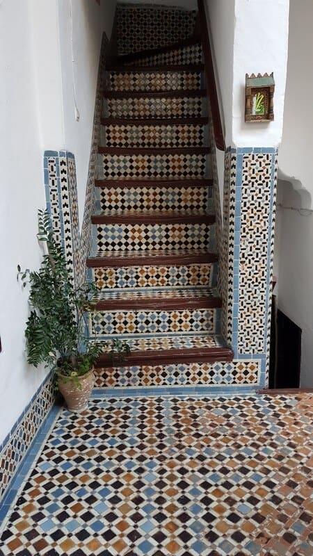 Tetouan - riad in morocco - mosaics