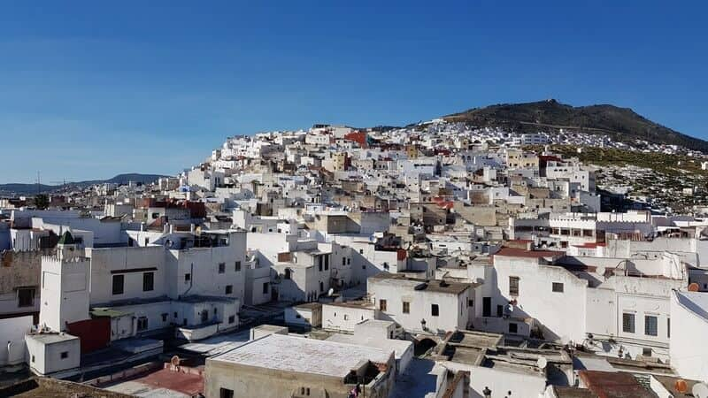 Rooftop view over Tetouan
