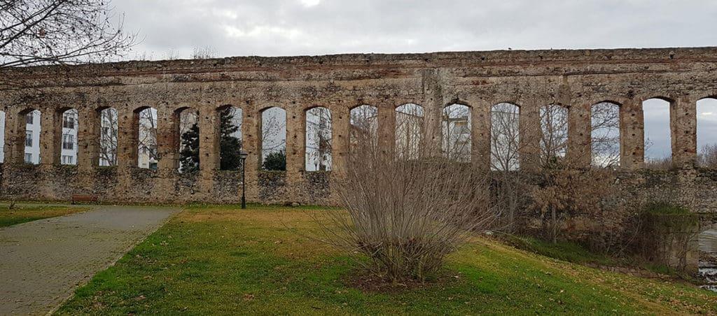 Exploring the Roman Ruins in Merida,Spain