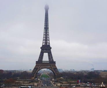 Paris, snow and reunions